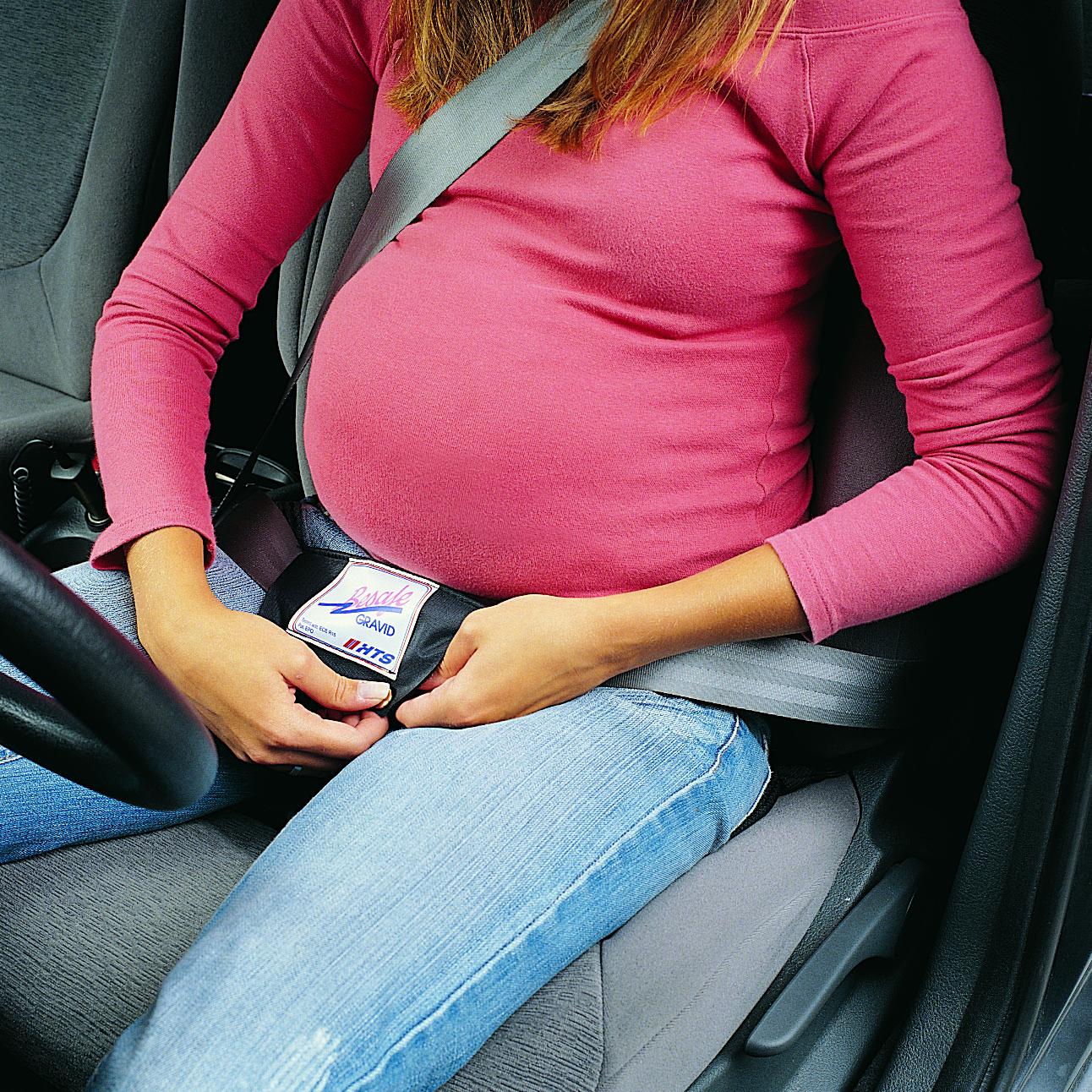 беременная за рулем2
